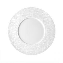 Baghera Blanc - Coffret 6 assiettes plates