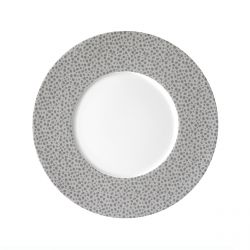 Baghera Platine - Coffret 6 assiettes plates