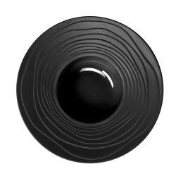 Escale Noir - Coffret 6 assiettes à pâtes