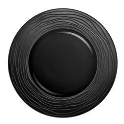 Escale Noir - Coffret 6 assiettes de présentation