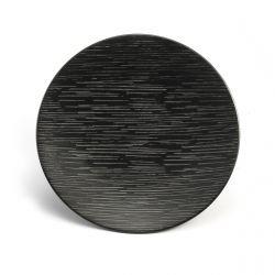 Magma noir - Coffret 6 assiettes dessert