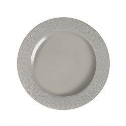 Grain de Malice Gris - Coffret 6 assiettes plates