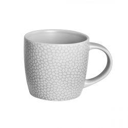 Stone Gris clair - Coffret 6 tasses café & thé
