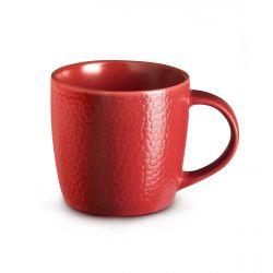 Stone Rouge - Coffret 6 tasses café & thé