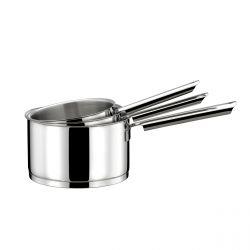 Elysée - Série de 3 casseroles 16/18/20cm inox