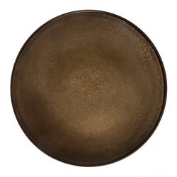Feeling Bronze - Coffret 6 assiettes plates
