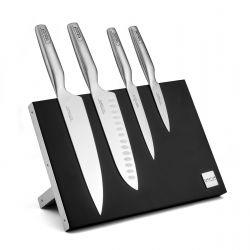 Asean - Bloc magnétique 4 couteaux de cuisine