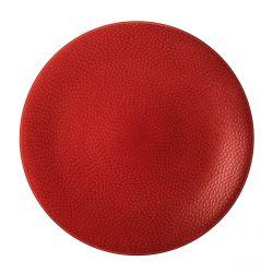 Stone Rouge - Coffret 6 assiettes plates