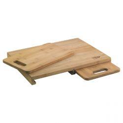 Trio - Planche à découper en bambou